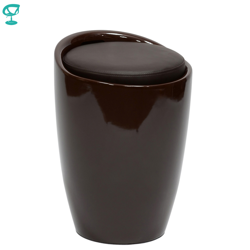 94902 Barneo N-13 Plastic Kitchen Breakfast Interior Stool Bar Chair Kitchen Furniture Brown Free Shipping In Russia