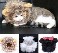 프로모션 재미 고양이 모자 모직 개 모자 의상 드레스 애완 동물 모자