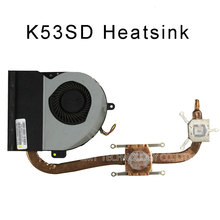CPU FAN FOR ASUS K53SD REV5.1 cooling fan fan&heatsink original 13GN3E1AM030-1-13C6 003P