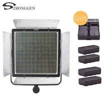 YONGNUO YN10800 3200 K 5500 K iluminación de vídeo LED equipada soporte en forma de U 360 grados Luz de relleno para fotografía profesional