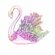 Crystal swans DIY scrap paper decoration crafts embossed cutting dies card scrapbook 2019