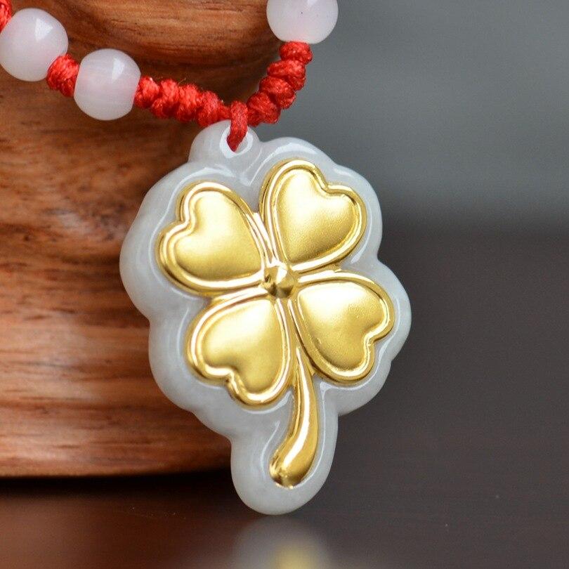 Top qualité Jade pendentifs collier pour hommes femmes colliers meilleur cadeau unisexe