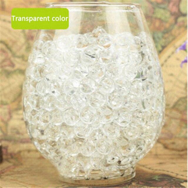 72e0d696d 1000 pcs Flor Planta De Água Geléia Solo de Cristal Lama de Água Grânulos  de Gel