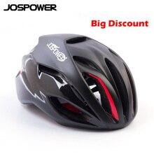 JOSPOWER Открытый Профессиональный велосипедный шлем дышащий Superlight велосипедные защитные шапки велосипедный шлем capacete ciclismo 54-62 см