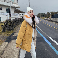 KUYOMENS New Winter Jacket Women Faux Fur Hooded Parka Women's Coats Female Long Sleeve Thick Warm Snow Wear Jacket Coat недорого