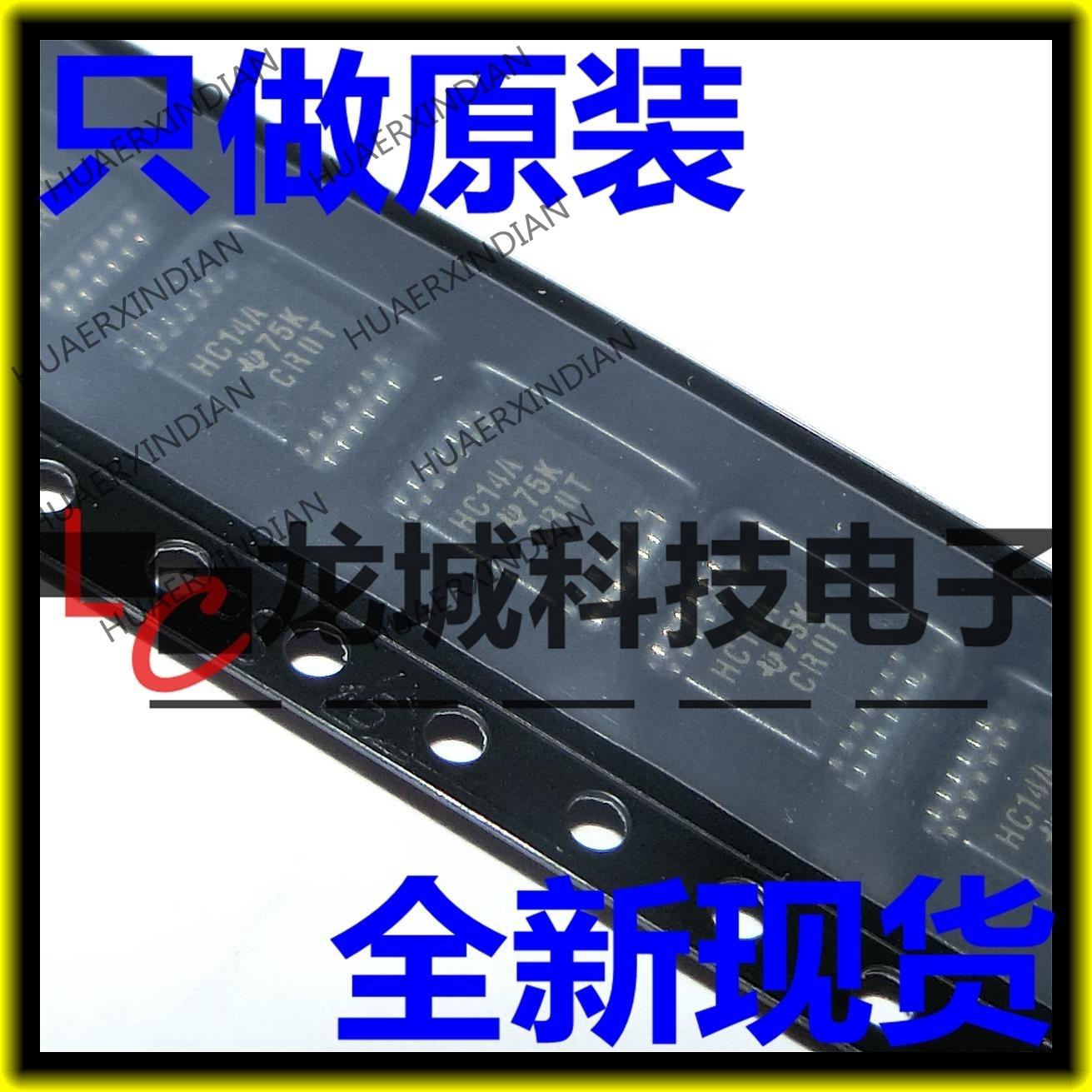Новый HC14A HA14 SN74HC14APWR TSSOP-14 в наличии на складе