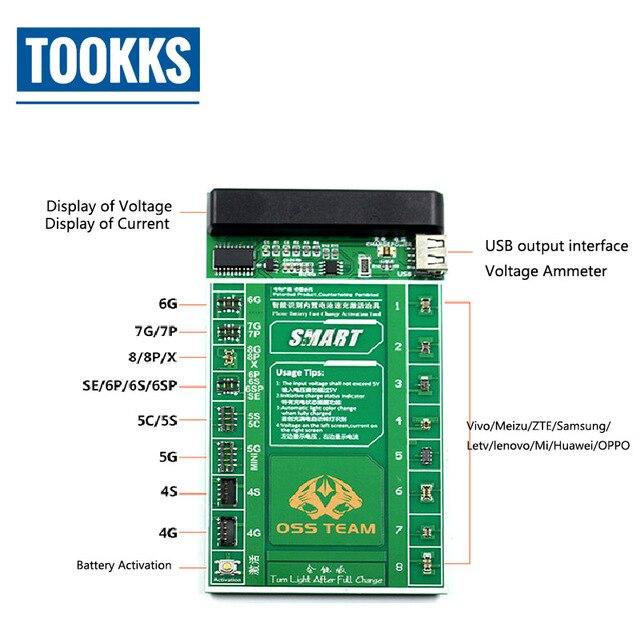 Placa de placa de activación y carga rápida de batería Universal para iPhone  Samsung todas las 4d95ed2a50c1