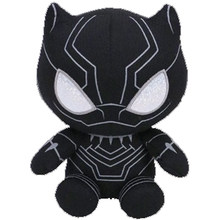 Ty Beanie Enchido & do Luxuoso Brinquedo Marvel Super Hero Pantera Negra 15 centímetros(China)
