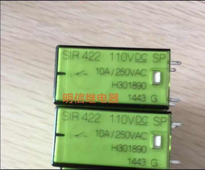elevator Safety 110V relay SIR422 110VDC SIR422 110VDC 110V 110VDC DC110V DIP14
