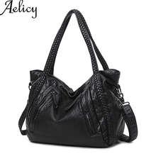 Aelicy Women Large Soft Leather Handbags Ladies Crossbody luxury handbags women bags designer shoulder bags women famous brands