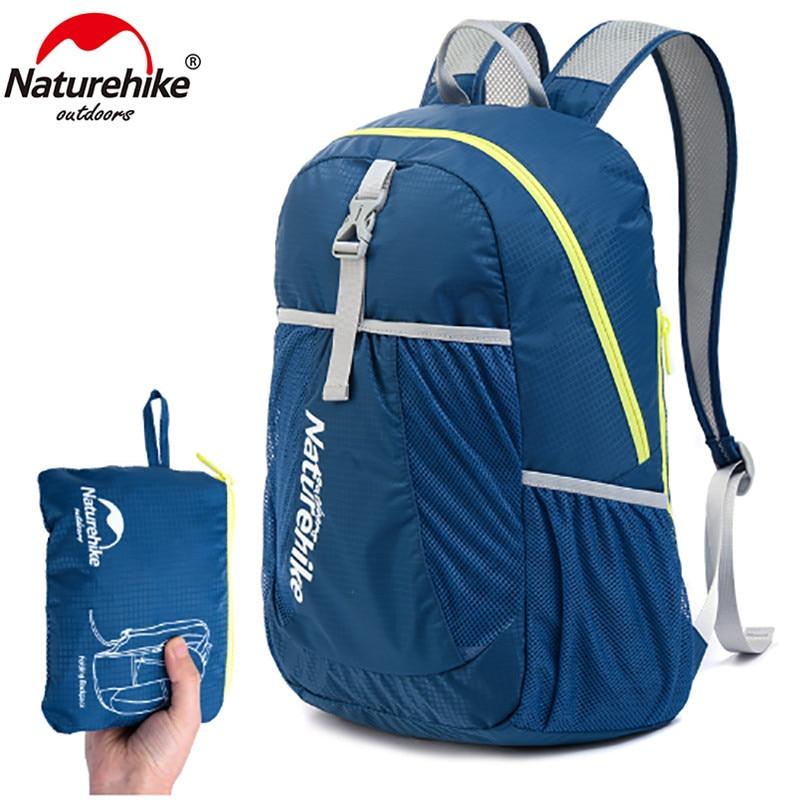 NatureHike Backpack Sport Men Travel Backpack Women Backpack Ultralight Outdoor Leisure School Backpacks Bags 22L NH15A119-B