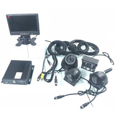 kit de monitoramento carro hd 720p