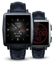 Ursprüngliche Omate X Smartwatch Schwarz Bluetooth Smart Watch Phone Omate X1 Kollege Aluminium Für IOS Android Schrittzähler Sport Uhr