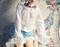 Sweetie White Shirt For BJD Girl 1/4 MSD 1/3 SD16 DD  IP EID  LUTS DOD AS Doll Clothes CWB25
