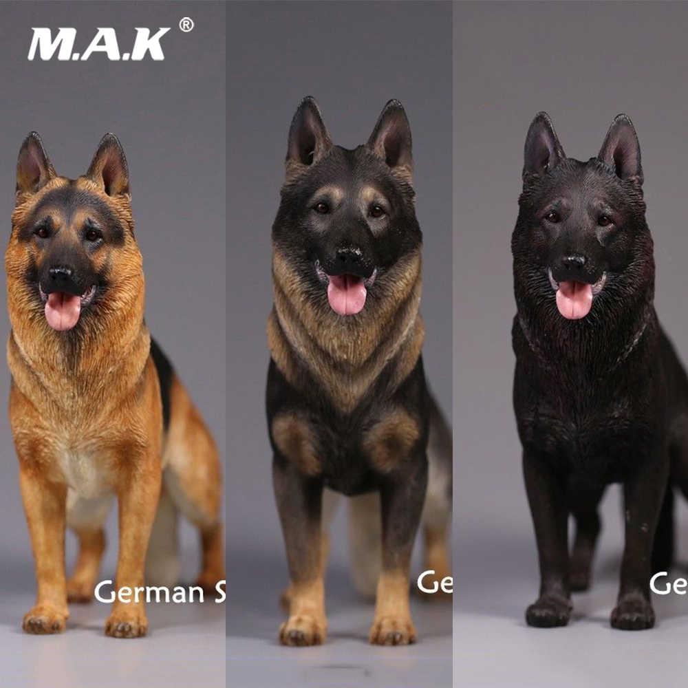 Mr. z MCC-001A/b/c 1/6 pastor alemão cão animal modelo brinquedo figura cenas acessório para 12 figure figure figura de ação