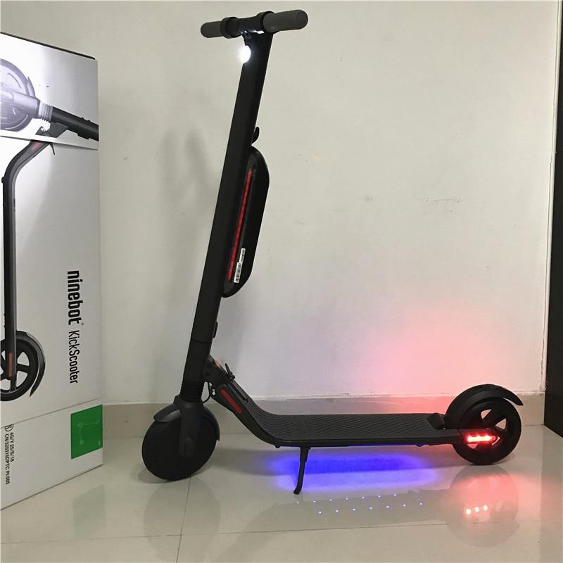 2018 Ninebot Segway KickScooter ES4/ES2 Smart Электрический самокат складной легкий доска ХОВЕРБОРДА скейтборд hover доска