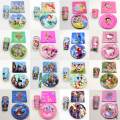 60pcs\lot Pokemon Go Cups Baby Shower Masha Napkins Party Little Pony Plates Kids Favors Mickey Birthday Decoration Supplies
