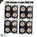 Зрительная мойка Blinder 400 Вт COB * 4 LED WW/CW теплый белый и холодный белый свет заполняющий для стены сплайсинга диммер окружающий свет