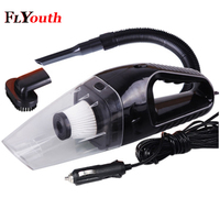 New 120W 12V Car Vacuum Cleaner Handheld Mini Vacuum Cleaner Super Suction 5m Cable Wet And Dry Dual Use Portable Vacuum Cleaner