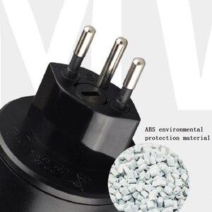 Image 5 - Swiss plugs Eu socket Adaptador convertidor Swiss European travel enchufe Suiza Suisse 3Pin convertidor Electrical Plug