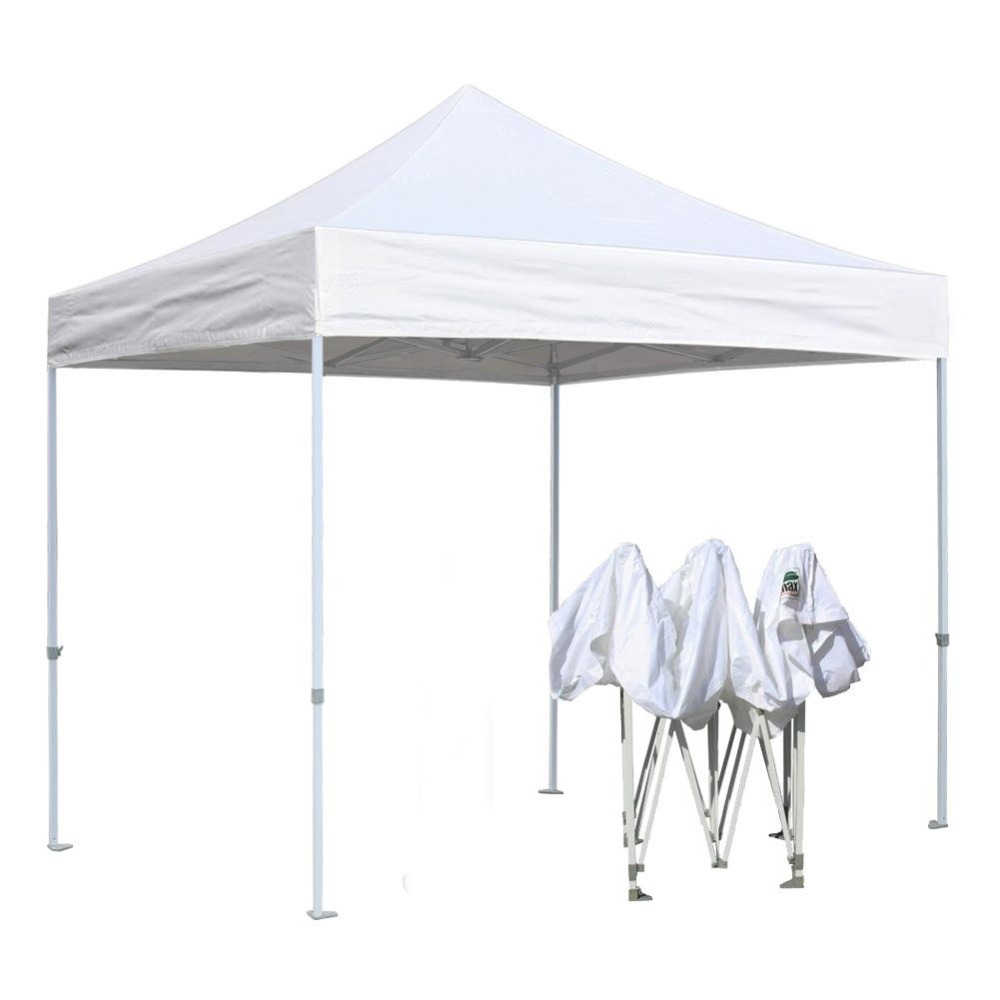 Wedding With White Tent: GRNTAMN White Folding Tent Portable Instant Canopy Event