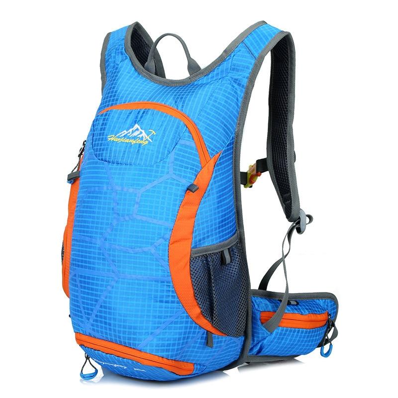 Фотография Huwaijianfeng New Fashion Out Door Nylon Women Men Bags Waterproof Travel Backpack Mochilas Rucksack High Quality Big Backpack