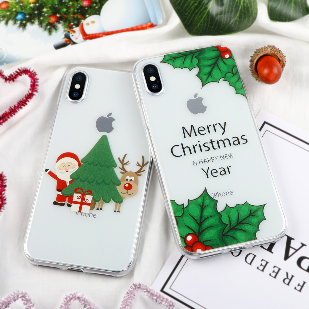 for Xiaomi Redmi 4X Note 3 3S 3 Pro 4X Christmas Case for iPhone X 4 ...