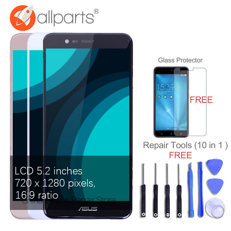 Original Tested 5.2'' For Asus Zenfone 3 Max ZC520TL Display LCD Touch Screen Digitizer Assembly X008D ZC520TL LCD Display
