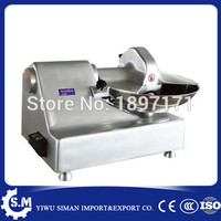 5.5L stainless steel vegetable cutting machine meat food broken stuffing mixer machine automatic mincing chopper maker