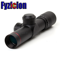 Tactical 4 5x20 1 Inch Compact Hunting Rifle Scope Tactical Optical Sight P4 Reticle Riflescope With