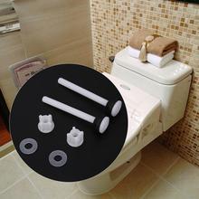 3 Pair Two-piece Toilet Water Tank Screw Set Bathroom Toilet Screw Fixings Fitting Accessory Toilet Seats Hinges Repairing Tools 3 pair toilet seat top screw set fixings fitting toilet repairing tools bathroom accessories