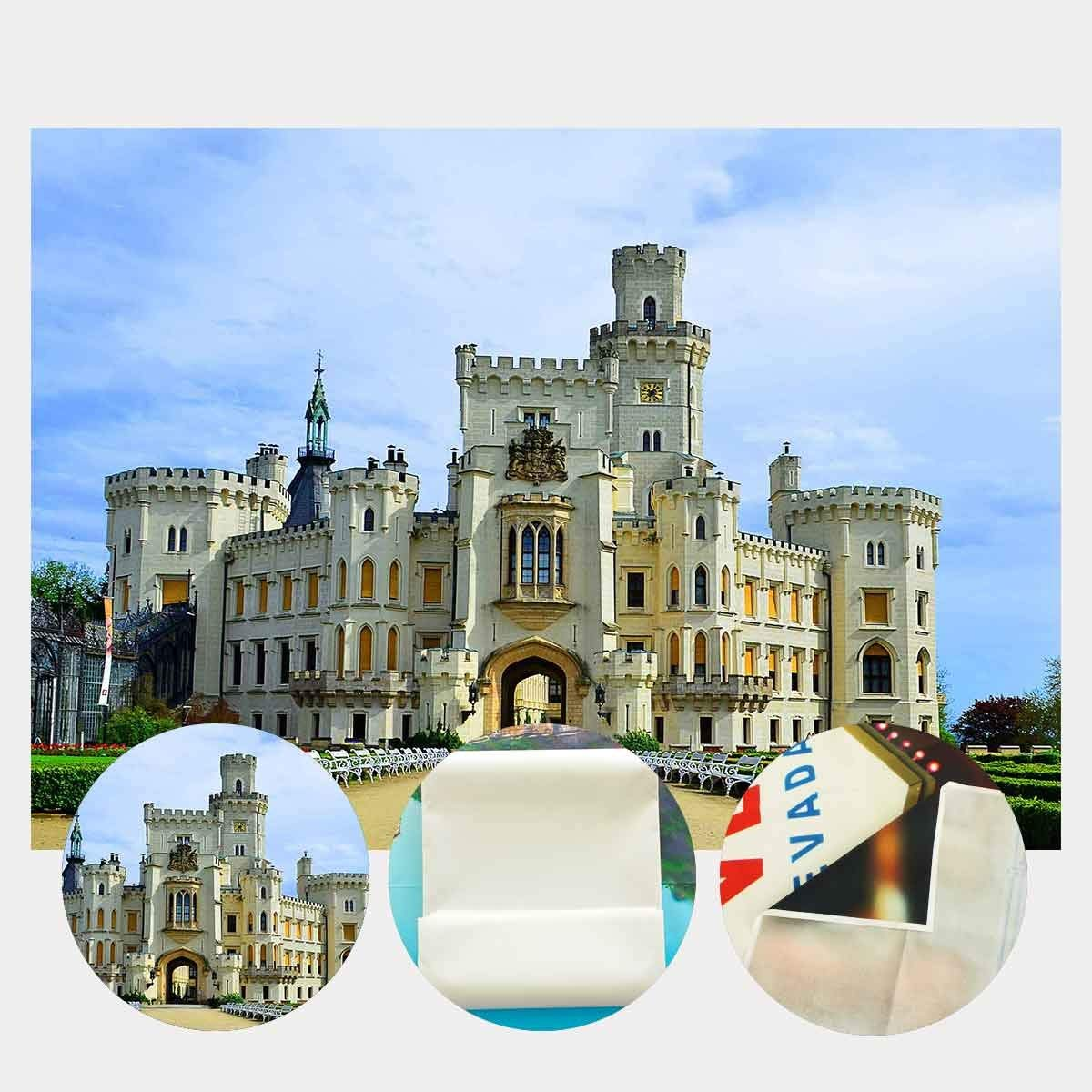7x5ft Castle Backdrop European Famous Castle Photography Background and Studio Photography Backdrop Props in Photo Studio Accessories from Consumer Electronics