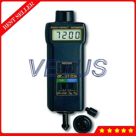 DT-2236 Wide measuring range Contact  Photo Tachometer price measuring range 0