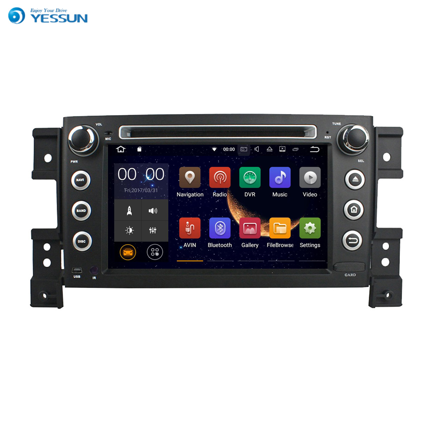 YESSUN For Suzuki Grand Vitara 2005~2011 Android Car GPS Navigation DVD player Multimedia Audio Video Radio Multi Touch Screen