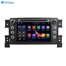 Yessun для Suzuki Grand Vitara 2005 ~ 2011 android-автомобиля GPS навигации dvd-плеер мультимедиа аудио-видео Радио Multi- сенсорный экран