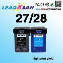 Совместимость для hp27 28 чернильный картридж совместимый для hp28 27 с чернилами HP Deskjet 3320 3325 3420 3535 3550 3650 3744 принтер