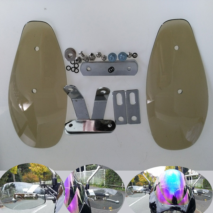 US $30 39 5% OFF|Motorcycle Hand Guard Handguard Wind Protector Shield For  SUZUKI DRZ400 RMX250 XR650L 650 XT DR Z400SM V Strom 650 ABS DR Z400S-in