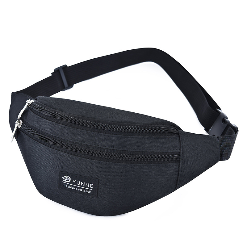 Bisi Goro Outdoor Fanny Pack Oxford Unisex Belt Waist Bags Waterproof Wear-resistant Sports Phone Banana Bag Chest Bag Men Women