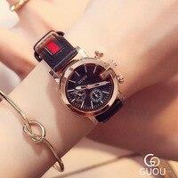Brand Luxury High Quality Quartz Leather Wrist Bracelet Fashion Women Watch Ladies Wristwatch Relojes Mujer Montre