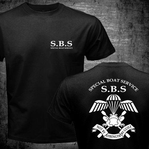 8429a5e5486ee Serviço de Barco especial Reino unido ForcesT Especial homens camisa SBS  Combate Do Exército marinha impresso top camiseta EUA plus size S 3XL em  Camisetas ...