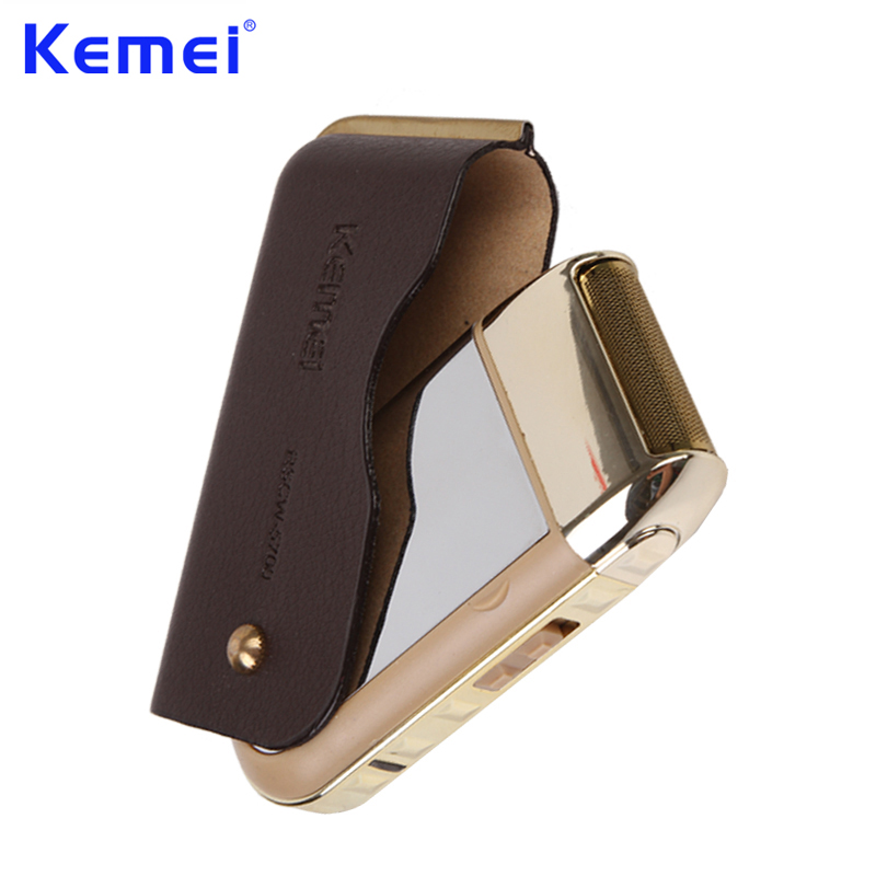 KEMEI Portable Mini Rechargeable Electric Shaver Groomer Trimmer Travel Reciprocating Electric Razor Shaving Machine KM-5700
