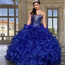 ac3e8f4f5b 2016 Púrpura Barato Vestidos de Quinceañera Con Chaqueta Cristales  Sweethert Organza Dulce 16 Vestidos de Bola