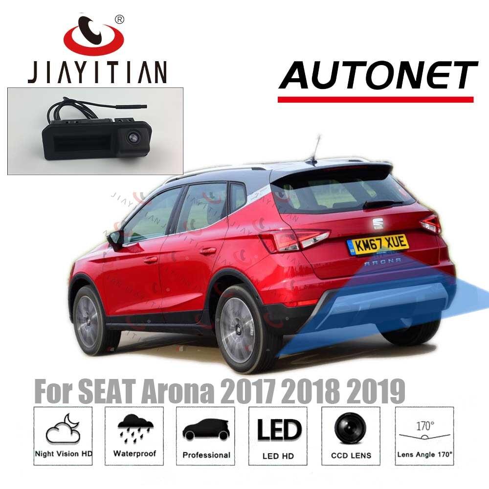 JIAYITIAN Rear View Camera For SEAT Arona 2017 2018 2019/Original Factory Style/Instead of Original Factory Trunk Handle Camera web page