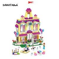 Smartable Friend Building Block Princess Anna Ice Castle 37007 Figure Bricks Toys 390 Pcs Compatible With
