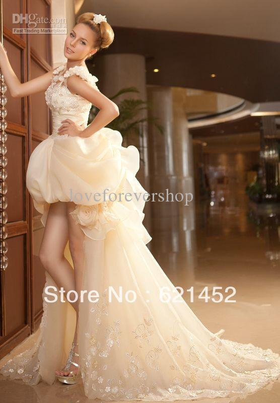 126eb24721c2 Rockabilly Wedding Dress Flowy Dresses Red And White Linen Black Princess  Floor Length Chapel Train Appliques Sweethe 2015 Cheap-in Wedding Dresses  from ...