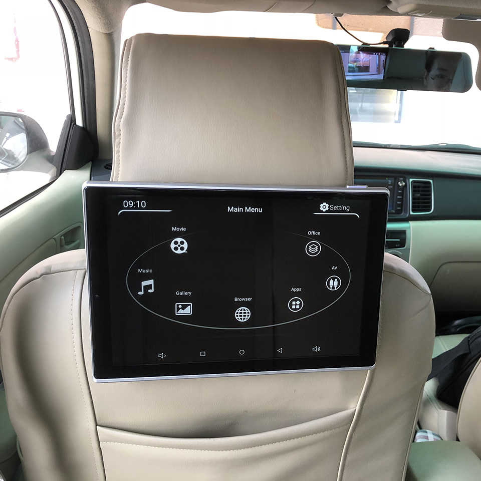 New Items 2018 Electronics Car Television Android Headrest With Monitor For  Audi Q7 Auto Accessories TV Screen 11 8 Inch 2PCS