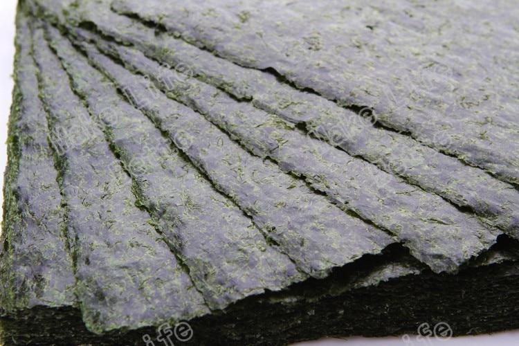 100 шт. Nori морские водоросли для суши + бесплатный инструмент, сушеные водоросли Nori для суши, оптовая продажа, высококачественные водоросли нори-3