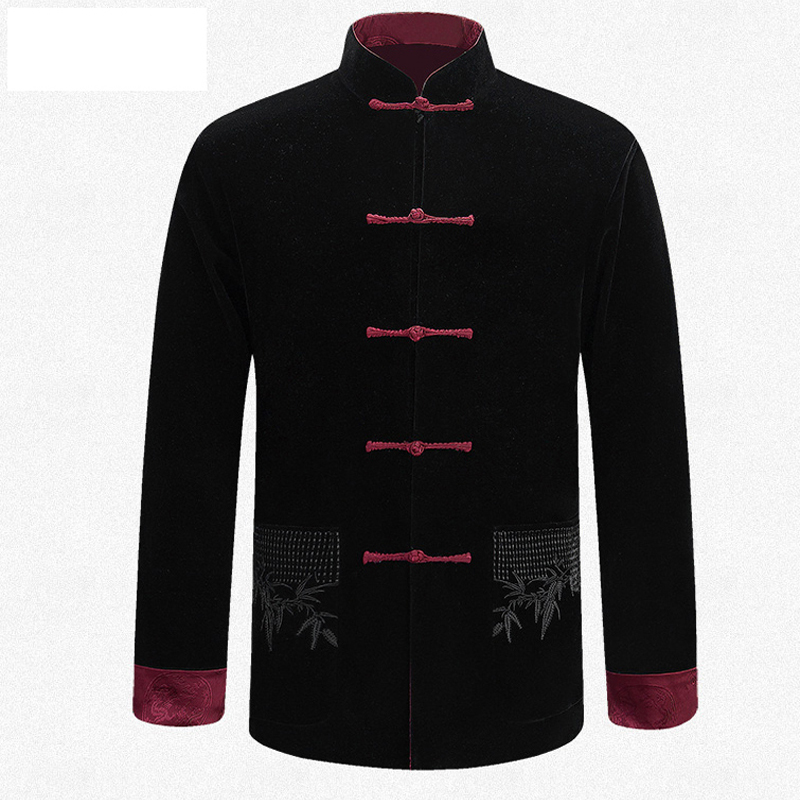 Men New Arrival Outerwear Chinese Traditional Kung-Fu Jacket Coat S M L XL 2XL 3