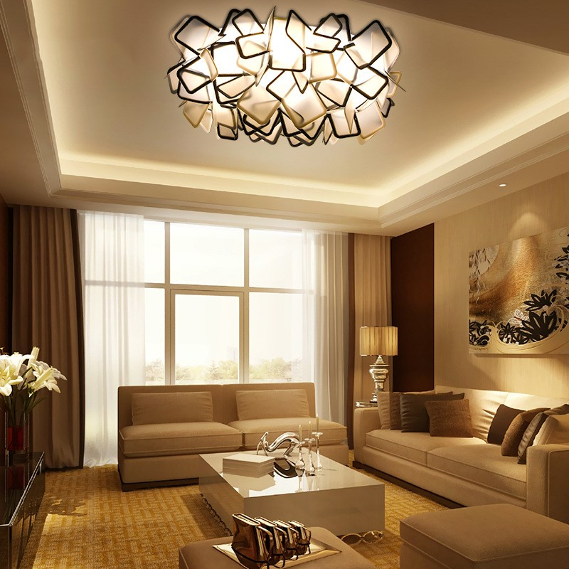 Northern Europe Creative Concise Art Led Ceiling