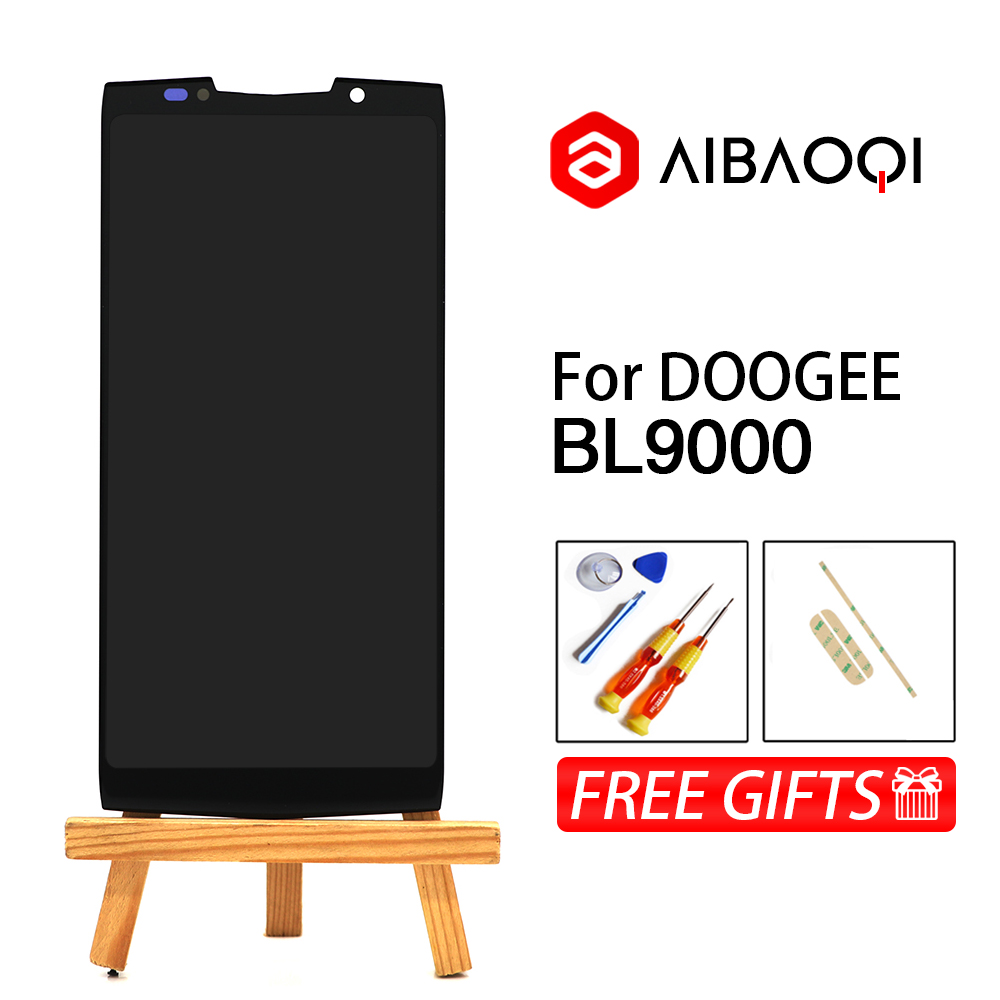 AiBaoQi New Original 5 99 inch Touch Screen 2160x1080 LCD Display Assembly Replacement For Doogee BL9000